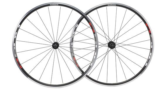 Shimano WH-R501 LRS 8/9/10-fach schwarz/rot